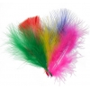 "Marabou Feathers 4-6""multi Mix"
